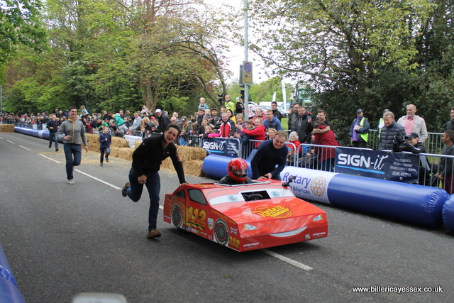 Billericay Soap Box racer