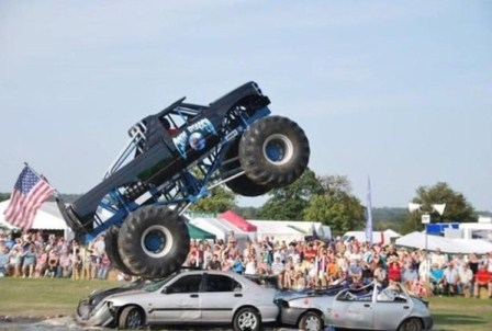 Monster truck at Essex Country Show