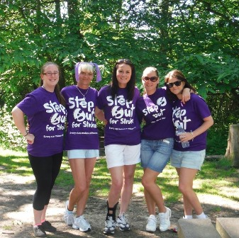 Step out for Stroke participants