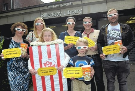 Supporters of Billericay Community Cinema