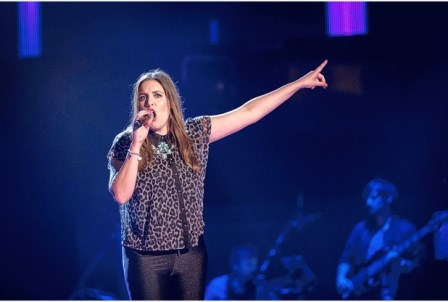 Singer Hollie Barrie on The Voice 2015