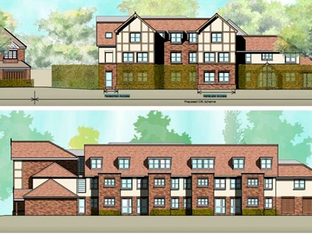 Churchill Billericay retirement development