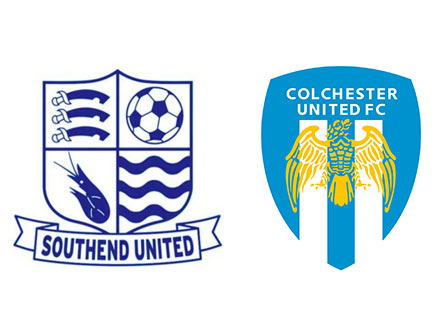 Southend and Colchester football club logos