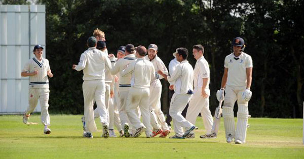 Billericay Cricket CLub celebrate