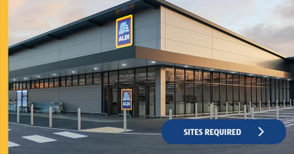 Aldi sites required graphic