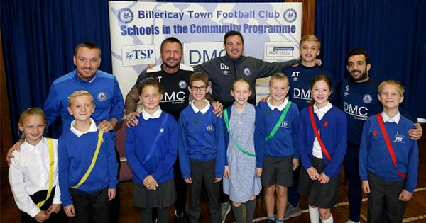 BTFC in the community - St Michaels School
