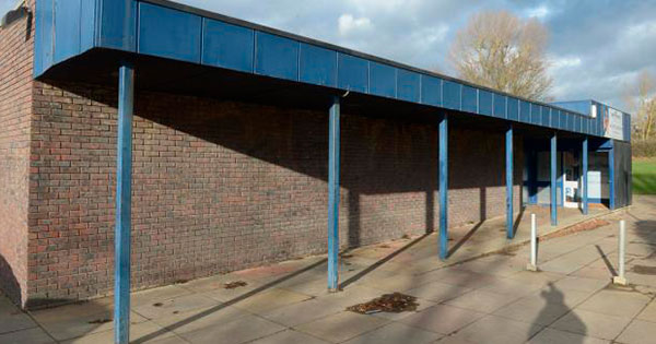 Billericay Swimming pool entrance