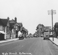 Early photo of Billericay High Street