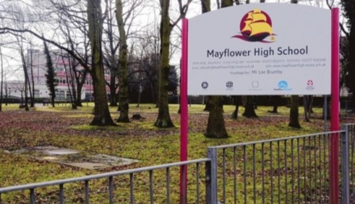 Mayflower High School Sign