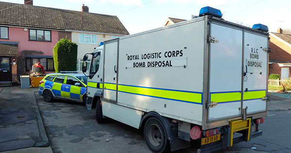 Royal Logistic Crops Bomb Disposal unit